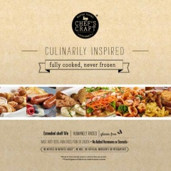 CHEF'S CRAFT® Gourmet Dinner and Breakfast Sausage Lookbook 2016