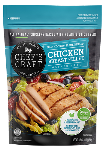 Chef's Craft Gourmet | Flame Grilled Chicken Breast Fillets