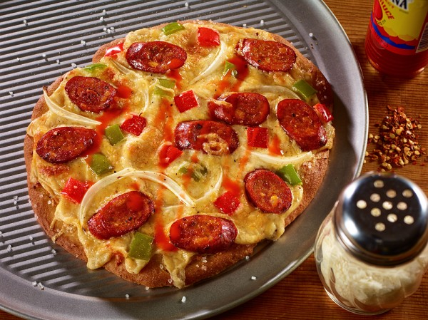 Andouille Chicken Sausage Cajun Pizza