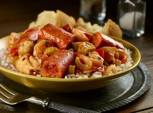 Andouille Chicken Sausage Gumbo