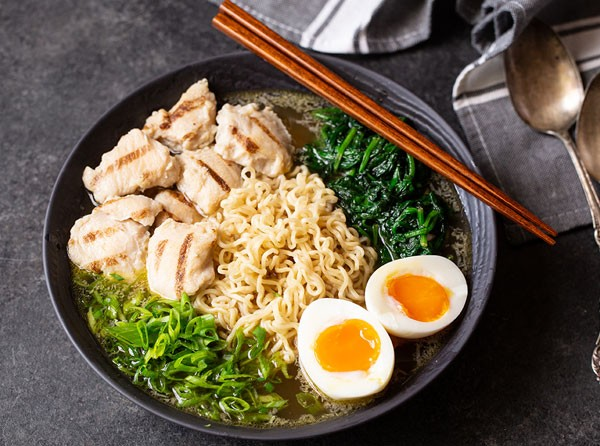 Quick and Easy Chicken Ramen