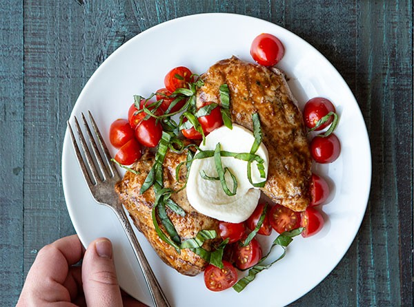 Balsamic Caprese Chicken
