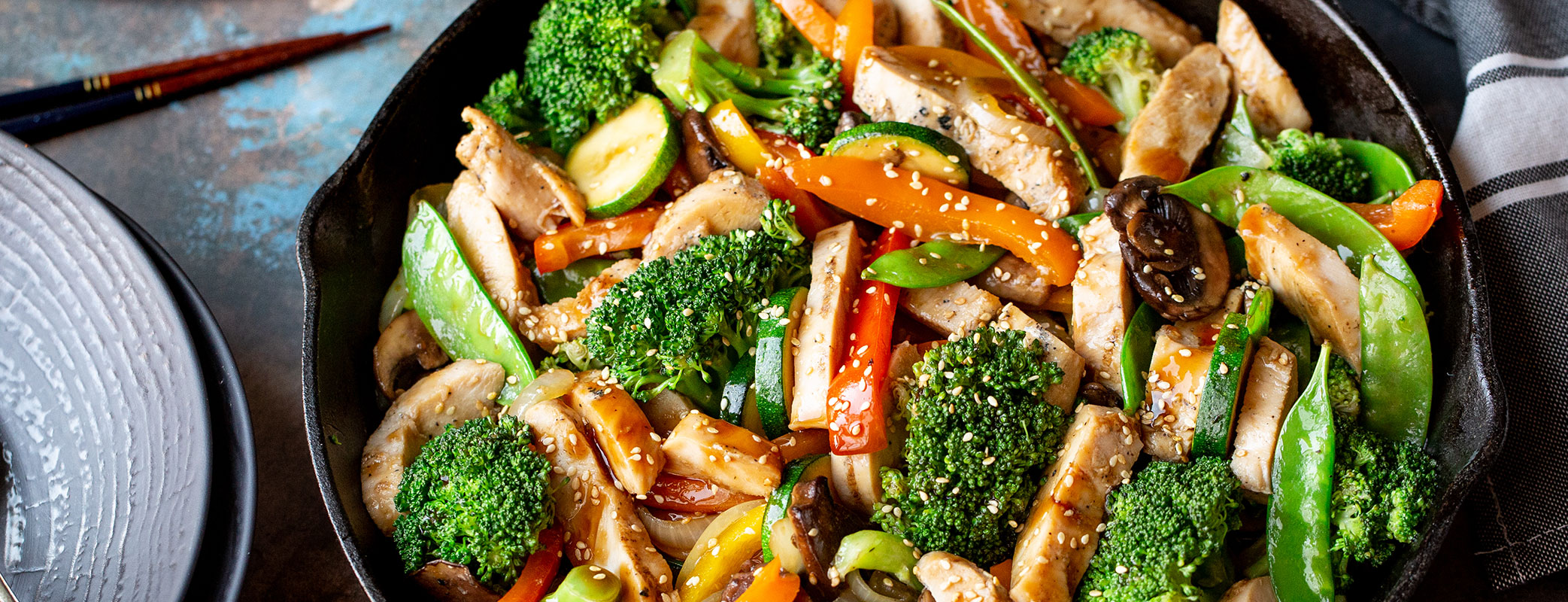 Honey Soy Chicken Stir Fry