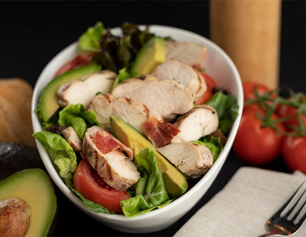 Grilled Chicken BLTA Salad
