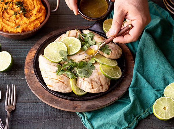 Honey Tequila Lime Glazed Chicken